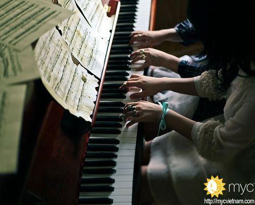 Chơi đàn piano tăng sự tập trung, kỷ luật và kiên nhẫn