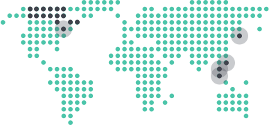 Hệ thống giảng dạy trên 3 châu lục